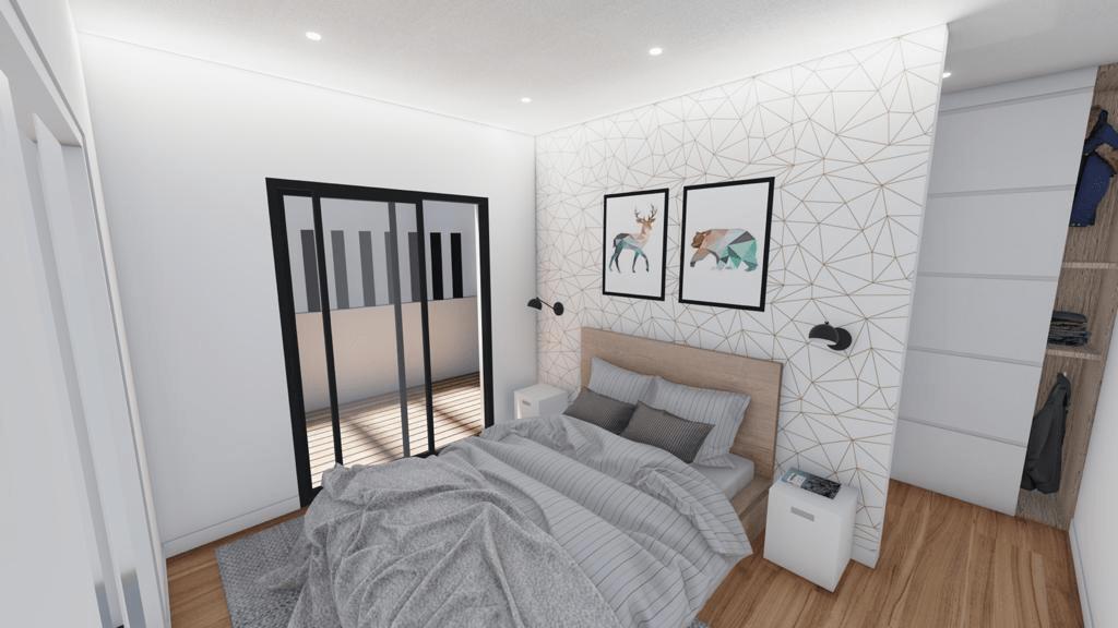 Dormitorio panorámica 1