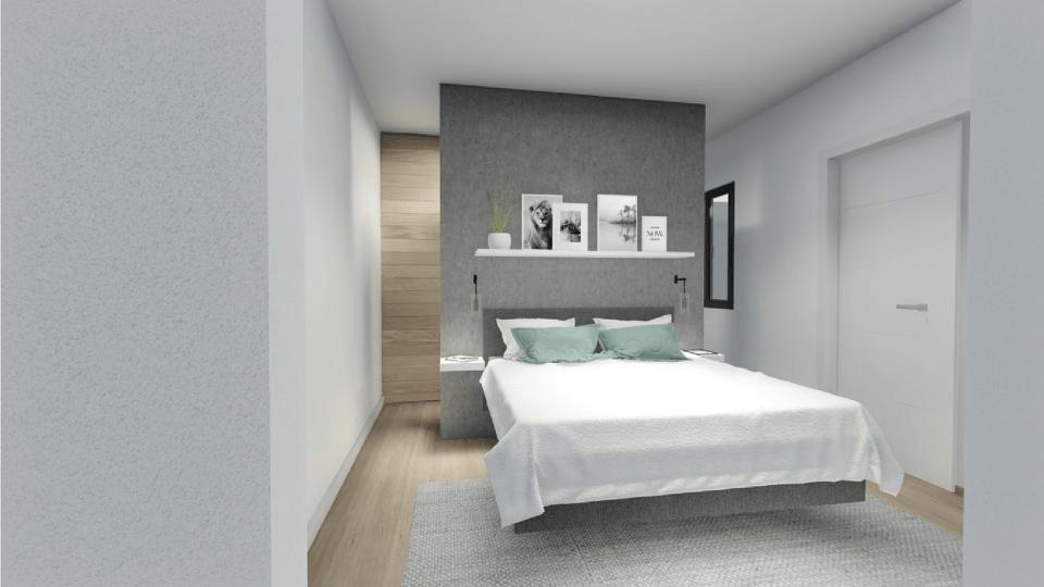 Dormitorio panorámica 2