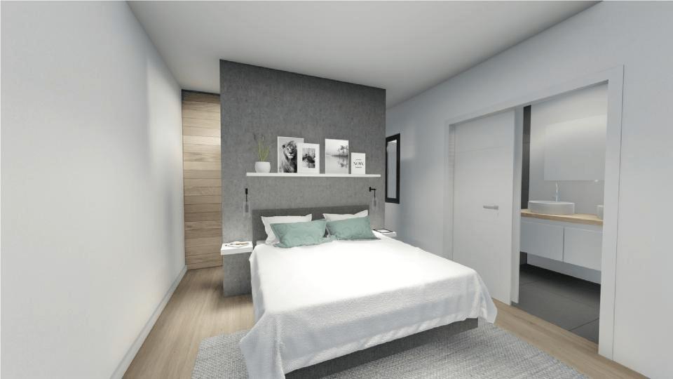 Dormitorio panorámica 3